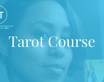 Complete Tarot Course  - Learn Tarot Online in 30 days (incl. Workbook, Q&A and Excercisebook) ONLY IN ENGLISH - Early Bird Price