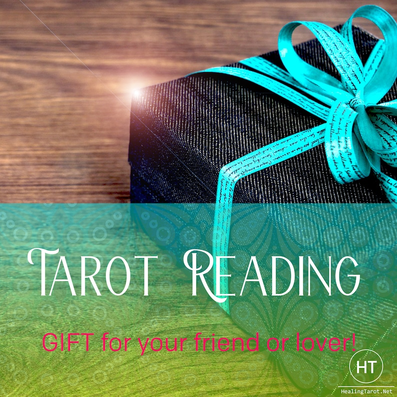 Same Day Shipping Birthday Card With Tarot Reading Gift Last