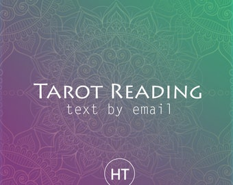 Love Tarot Reading by email 200 words - All your questions answered about your (upcoming) marriage / about groom / about bride / Tarot cards