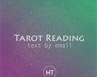 Personalized Tarot Reading Chat / Video / Email