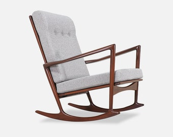 Stupendous Danish Rocking Chair Etsy Pdpeps Interior Chair Design Pdpepsorg