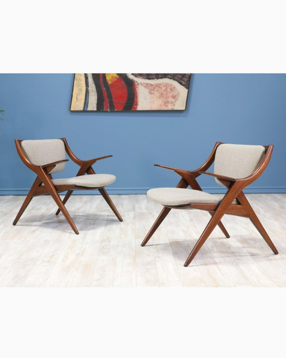 Prime Mid Century Modern Scissor Lounge Chairs Caraccident5 Cool Chair Designs And Ideas Caraccident5Info