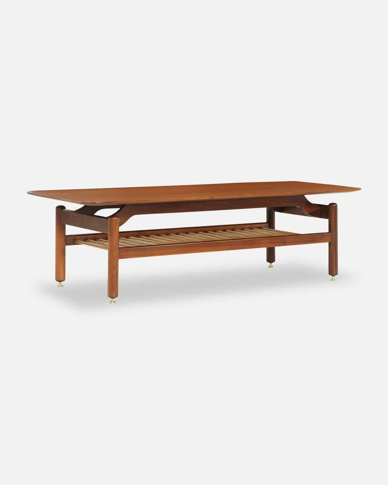 Miraculous Greta M Grossman Two Tier Coffee Table For Glenn Of California Gmtry Best Dining Table And Chair Ideas Images Gmtryco