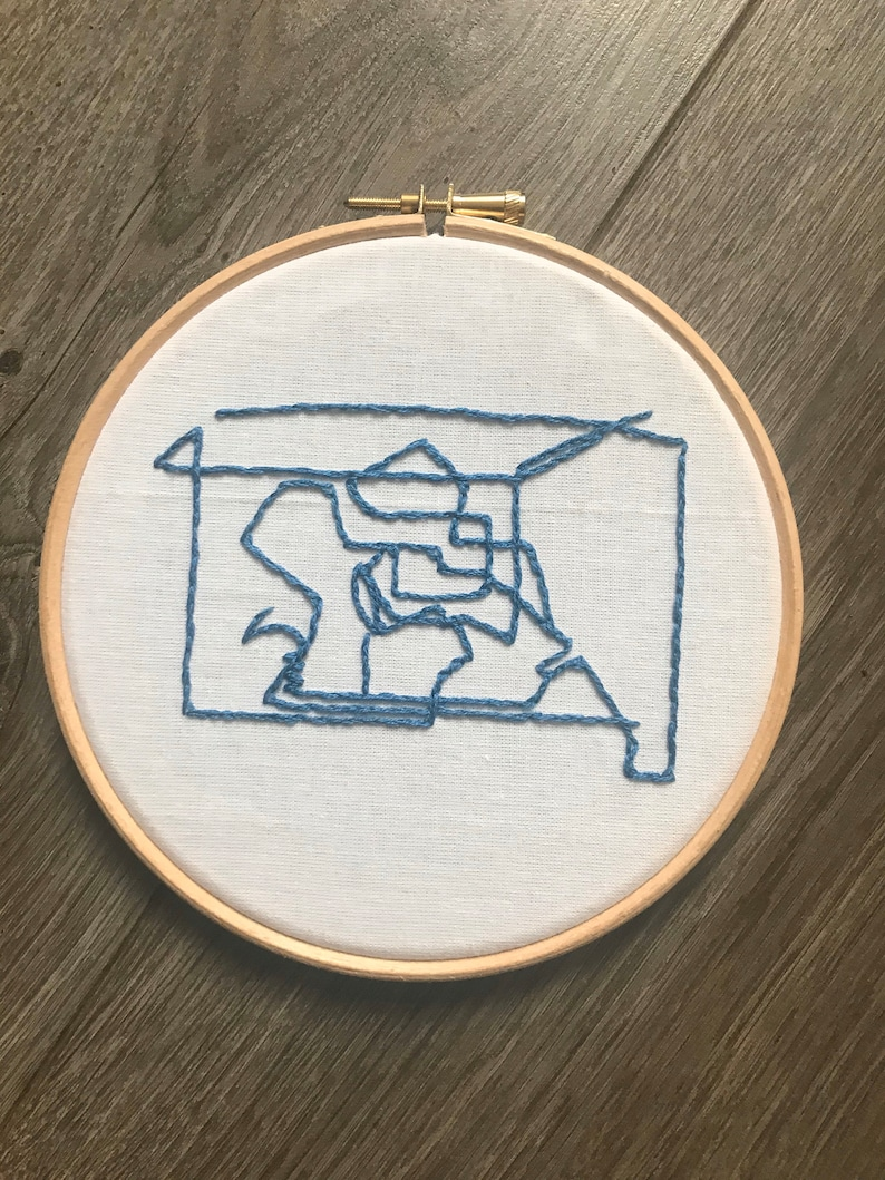 Art Inspired Embroidery: Command Lines 2 image 0