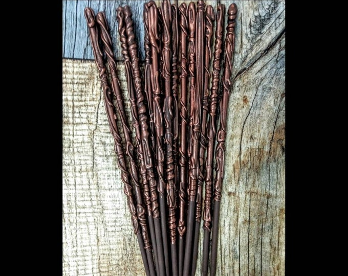 Copper and Brown Wands - Magic Wands - Party Favors - Wedding Favors - Bachelorette Party Favors - Best Selling Wands - Bachelor Party Favor