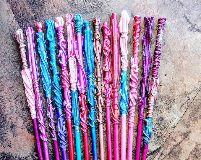 Unicorn Wands - Magic Wands - Party Favors - Wedding Favors -  Mermaid Wands - Fairy Wands - Bachelorette Party Favors - Magic Wands