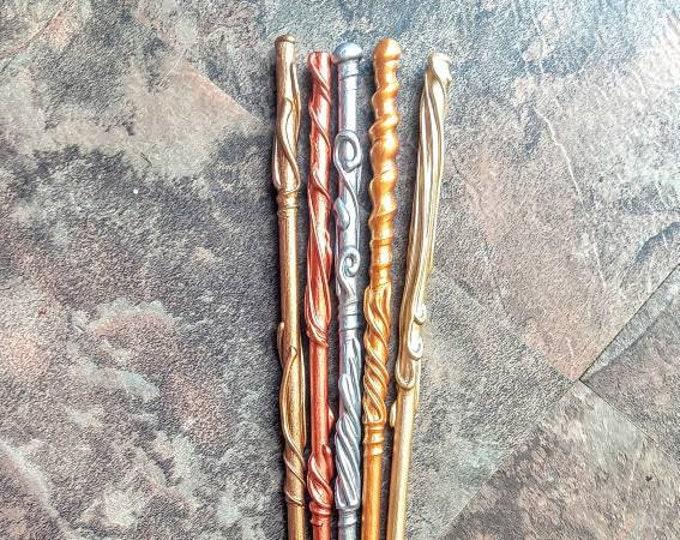 Metallic Wands - Wizard Wands - Witch Wands - Unicorn Wands - Mermaid Wands