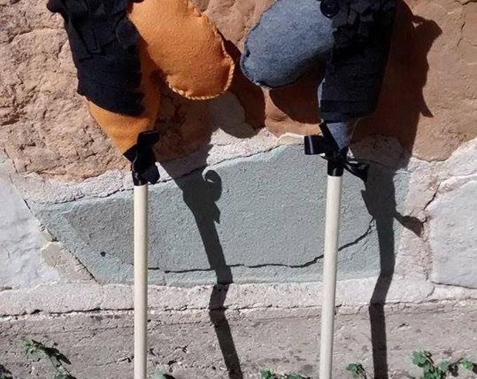Stick Horses - Southwest Style Wild Stick Horses