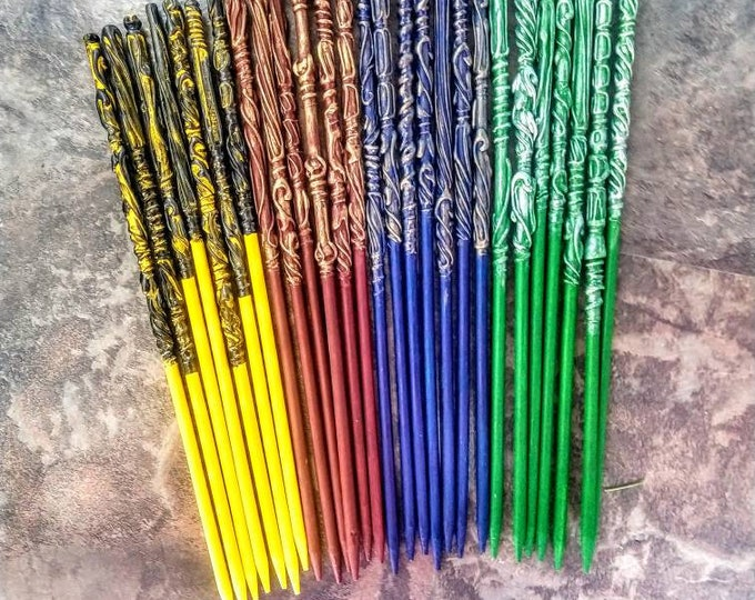 School Colors Wands - Wizard Wands - Witch Wands - Party Favors