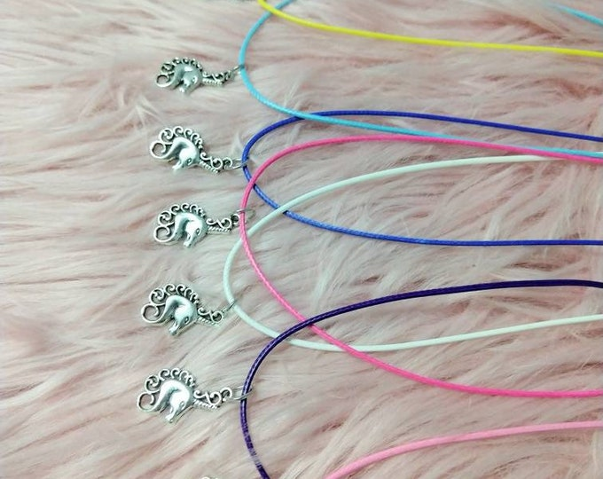 Unicorn Necklace - Unicorn Charm - Party Favors - Birthday Party Favors - Unicorn Party - Unicorn Party Favors