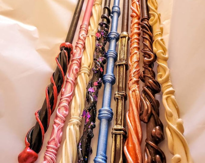 Lot of 5 Random Wands - Magic Wands -  Fairy Wands - Unicorn Wands - Mermaid Wands