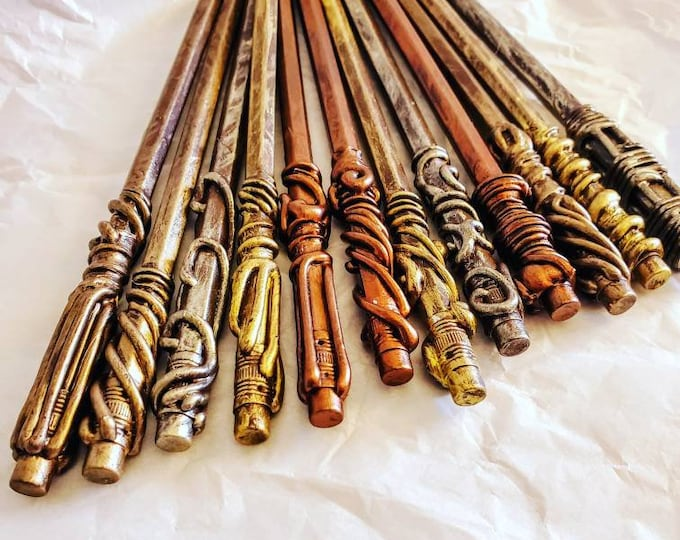Magic Wands - Pencil Wands - Magic Wand Pencils - Party Favors - Wedding Favors - Bachelorette Party Favors - School Supplies - Magic Wand