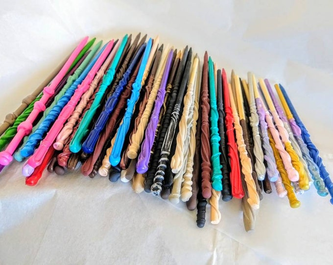 Party Pack Wands - Sizes and Colors Available - Wizard Wands - Custom Wands - Magic Wands - Fairy Wands