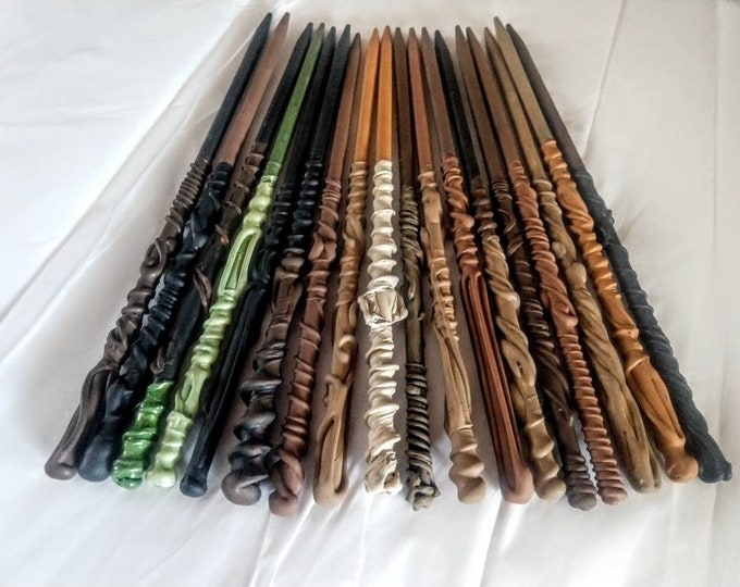 Magic Wands - Party Favors - Wedding Favors - Natural Colors Wands - Bachelorette Party Favors - Best Selling Wands - Wizard Wands - Brown