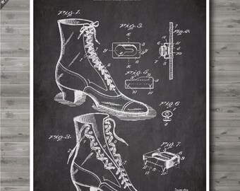 Shoe Lacing poster, Shoe Lacing patent, Shoe Lacing print, Shoe Lacing Art, Shoe Lacing Fashion Decor no98