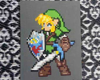 Pixel Link, Legend of Zelda