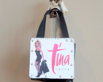 Dads Grads Sale Classic Vintage 1987 Tina Turner 45 RPM Bag Promo Of Single 'What You Get Is What You See'- No I'm Not Kidding