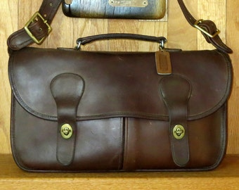 Dads Grads Sale Coach Musette Mocha Leather Made In New York City At The Factory - Fancied By Models, Dancers- VGC