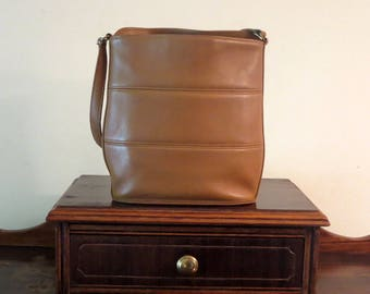 Dads Grads Sale Coach Tribeca Hobo In Toffee Leather Style No. 9083- Made In United States- VGC