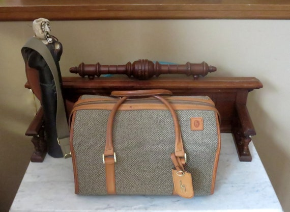 Hartmann Carry On Doctor Bag Style Duffel Tweed An