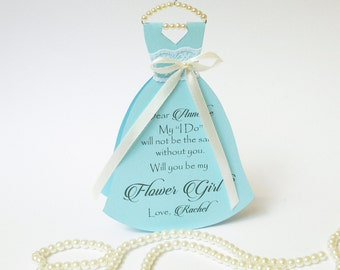 Will you be my bridesmaid maid of honor flower girl