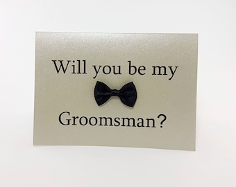 Will You Be My Groomsman Card, Will You be My Groomsman, Will You Be My , groomsman Card, Best Man, Usher, Ring Bearer, Wedding Party - Fun