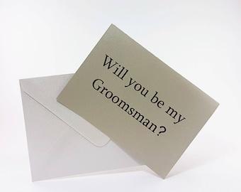Best Man Card Will You Be My Best Man Card Best Man Proposal Best Man Gift Groomsmen Cards Will You Be My Groomsman Groomsmen Proposal