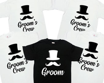 cb1fa398a Bachelor Party Shirts Groom And Groomsmen Shirts Bachelor Party Gifts Stag  Party T Shirts Bachelor Party Tees Groomsmen Gifts - SA1232-35