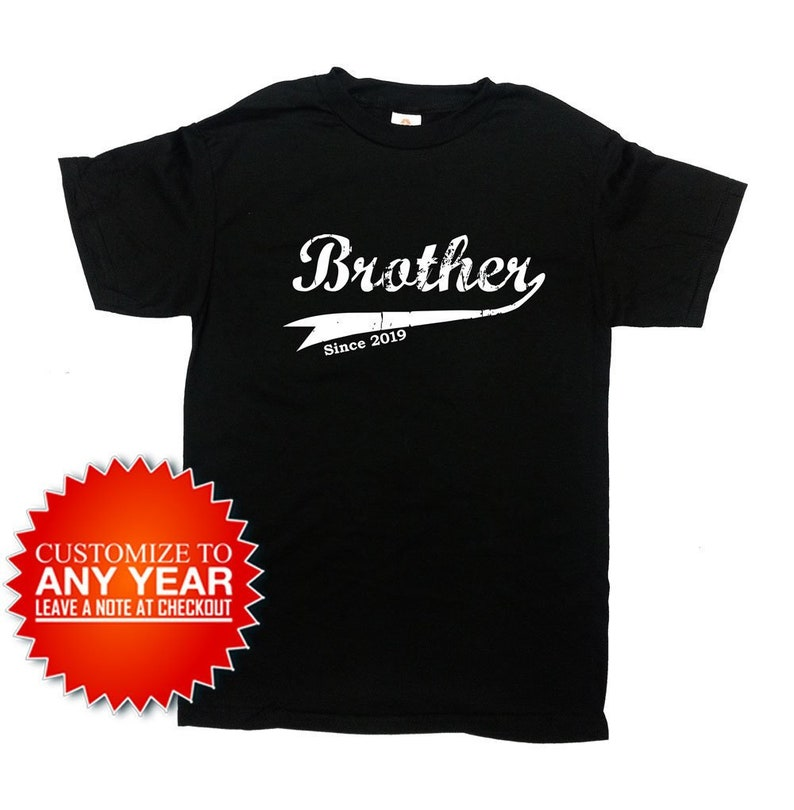 Funny Brother Shirt Siblings Gift Ideas For Him Big T