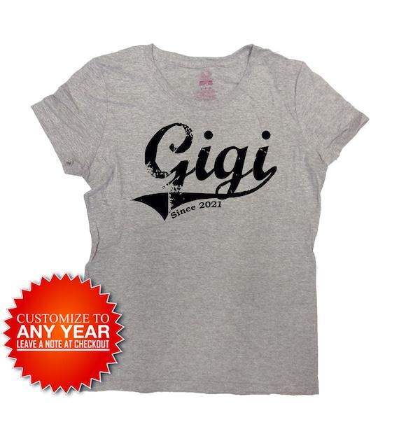 Gift For GIGI Mother/'s Day Gift Idea Gigi T-shirt Personalized GIGI T-shirt With Grandkids Names New Grandma To Be GIGI Shirt