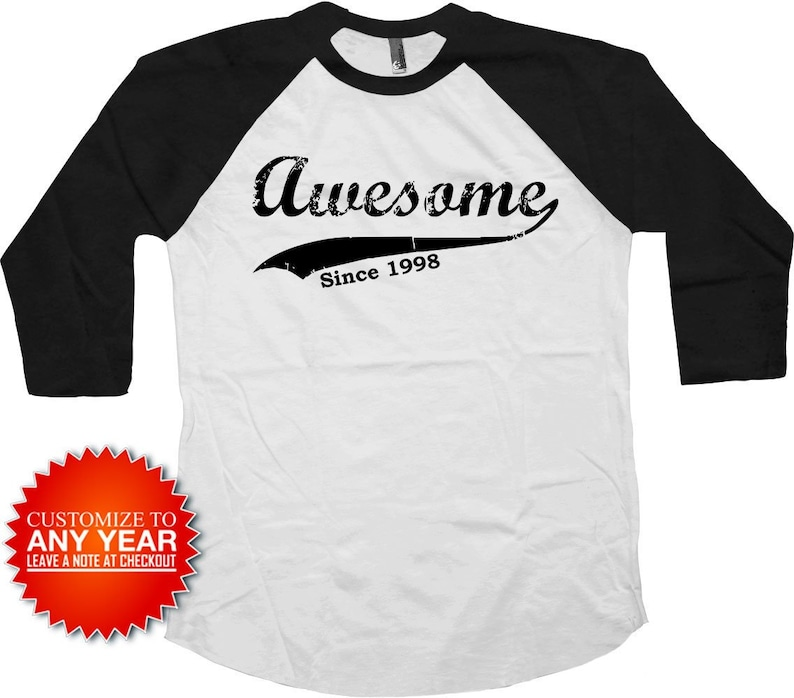 Funny Birthday T Shirt 21st Gift 21 Years Old Bday B