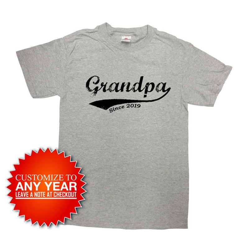 c156685c4 Grandpa Shirt Grandfather T Shirt Father's Day Gift | Etsy