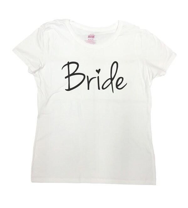 Bride T-Shirt Bride Shirt Bachelorette Party Tshirt
