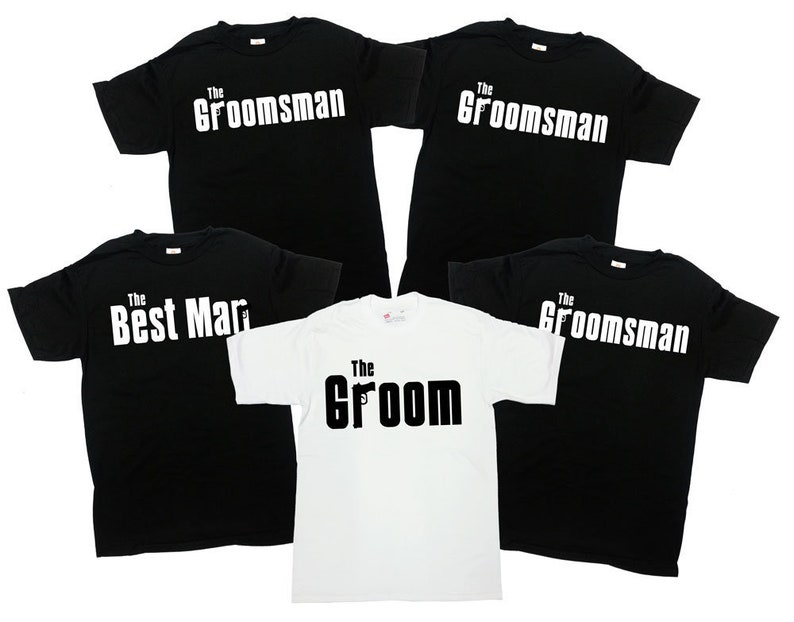 a73d7978 Groom And Groomsmen Shirts Grooms Party Gifts Bachelor Party | Etsy