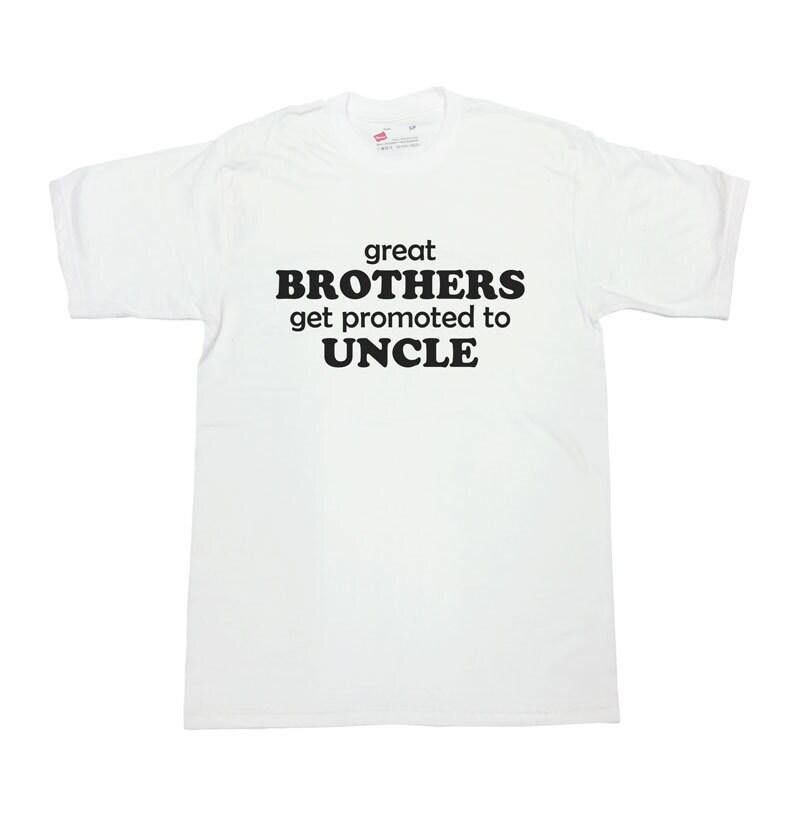 Obtenir une promotion - à oncle Tee - promotion SA159 oncle T Shirt nouvelle chemise oncle cadeau annonce grossesse TShirt cadeau de bébé pour oncle grands frères d9fbd8