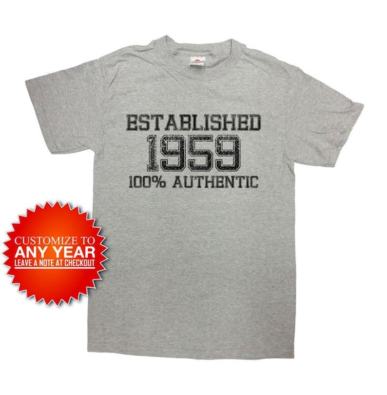 Funny Birthday TShirt 60th Gift Personalized Shirt 60