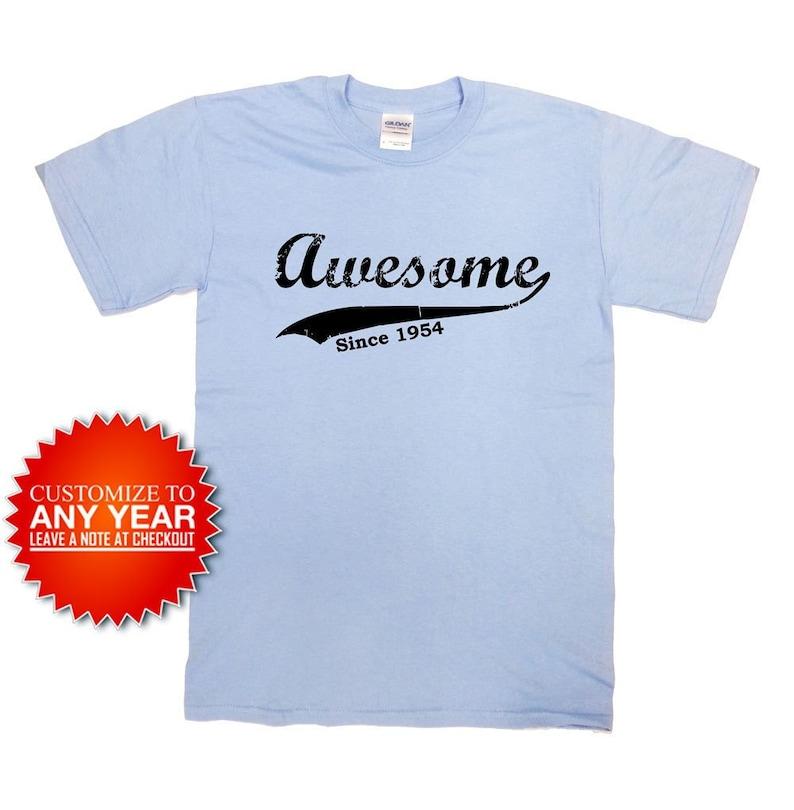 Funny Birthday T Shirt 65th Gift 65 Years Old Custom