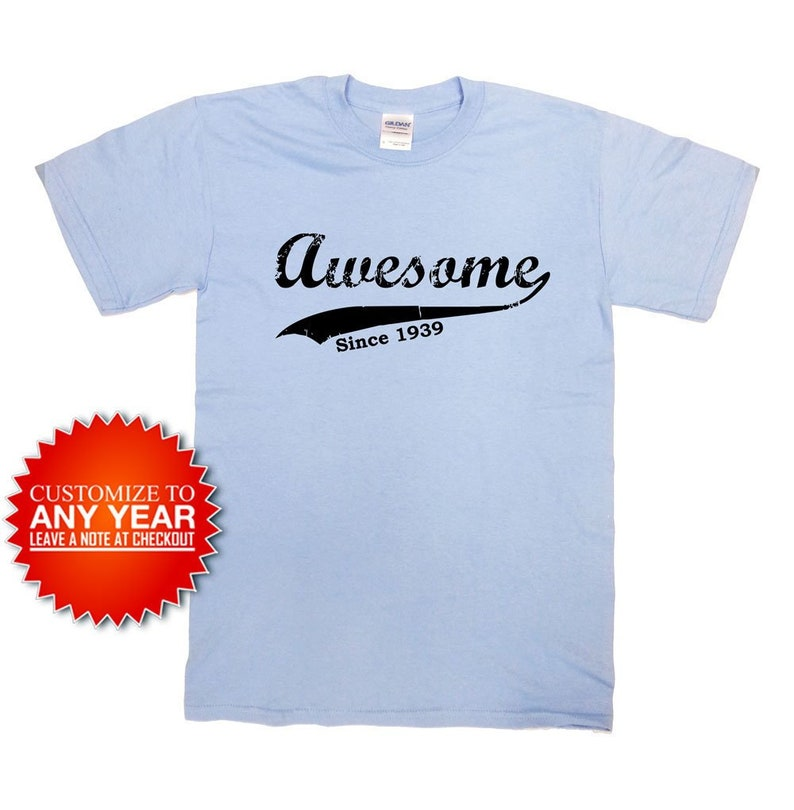 75d4b6c3e Funny Birthday Shirt 80th Birthday Shirt 80 Years Old Custom | Etsy
