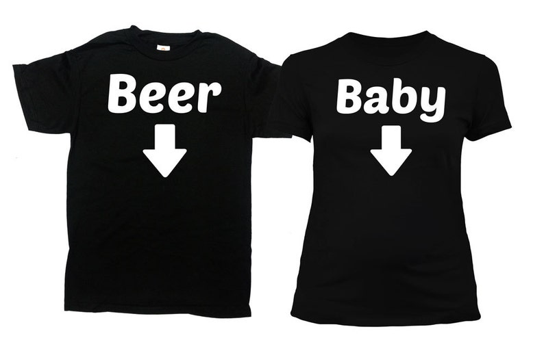 38462d09 Matching Couple Shirts Expecting Parents To Be Pregnancy | Etsy