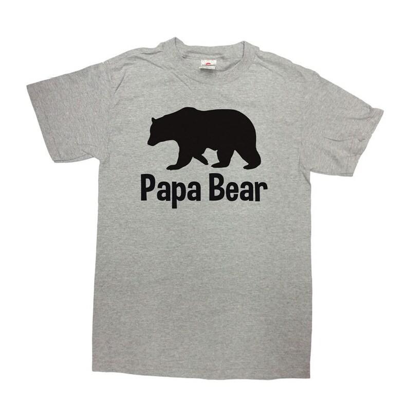 9f420b2d5607 Papa Bear Shirt Fathers Day Gift Papa T Shirt Best Papa Ever   Etsy