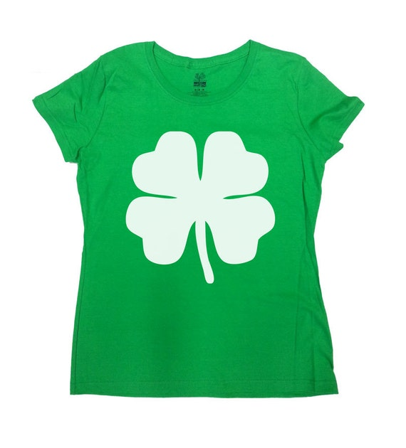 04ba1339 St. Patrick's Day Shirt Four Leaf Clover Shirt St Pattys | Etsy