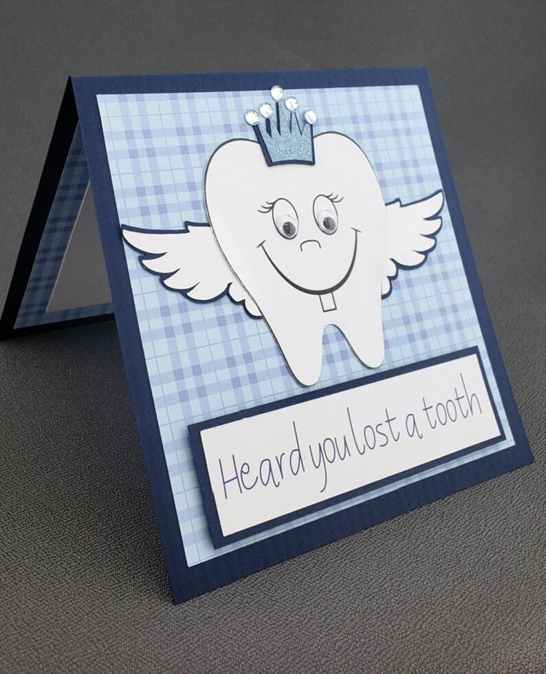 Handmade Tooth Fairy Card
