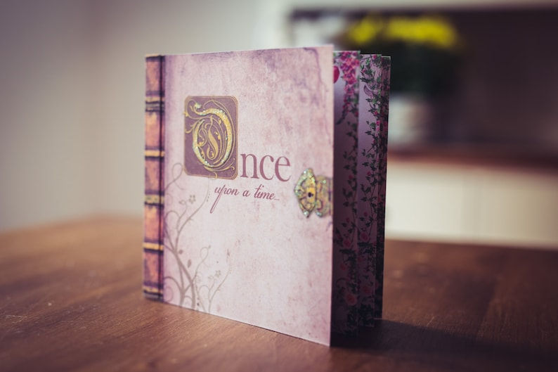 Fairytale Wedding Invitation Story Book Invitation Vintage Enchanted Design With Fairytales Once Upon A Time Wedding Sweet Sixteen