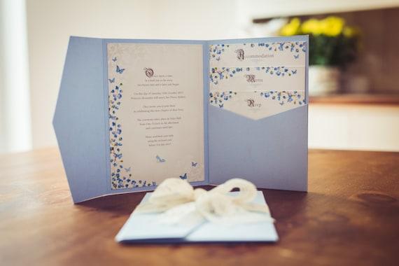 Cinderella Wedding Invitation Fairytale Wedding Invite Etsy