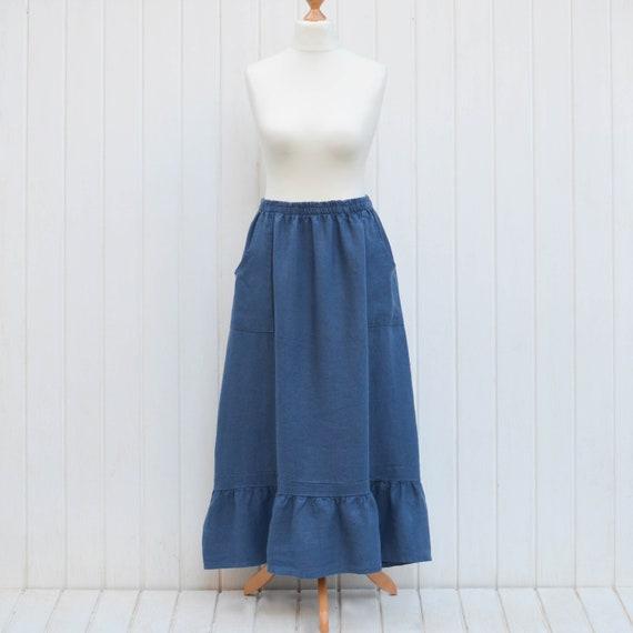 8e4b4af0a6f Lagenlook Plus Size Maxi Boho Linen Clothing Womens