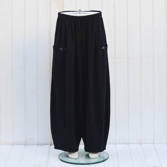 3ddfb8b21a4 Ladies Lagenlook Plus Size Heavy Cotton Trousers Pants Womens