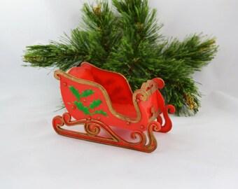 Christmas Sleigh Etsy