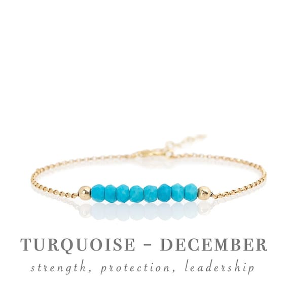 October Birthstone Genuine Watermelon Tourmaline Bracelet in Gold Personalized Jewelry Gift for Women Rose Gold or Sterling Silver