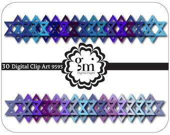 magen david clipart etsy rh etsy com Dreidel Clip Art Star of David Necklace Clip Art