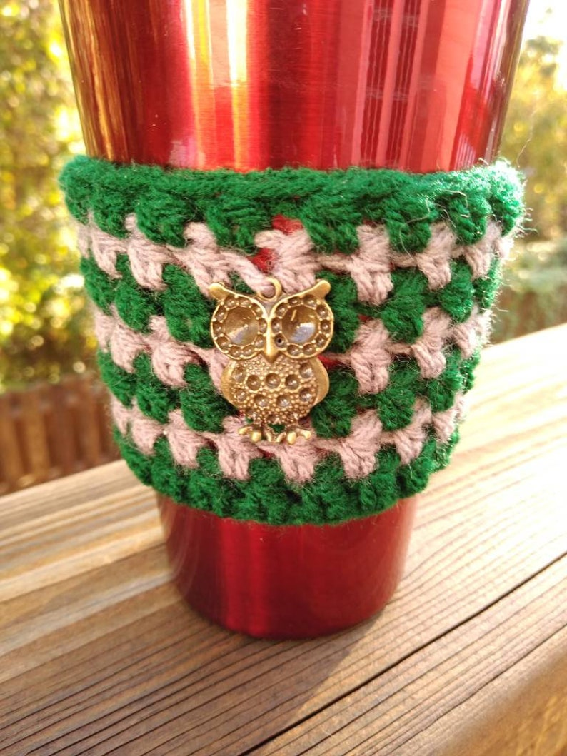 Slytherin inspired cup sleeve tea cozy coffee cozy coffee image 0